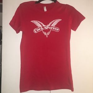 Tops - Cock Sparrer concert T-shirt
